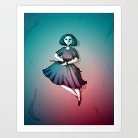 Night Dancer Art Print