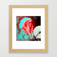 creation.  Framed Art Print