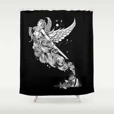 The Night Before the Battle Shower Curtain