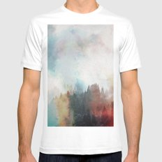 Nothing is Hidden White Mens Fitted Tee SMALL