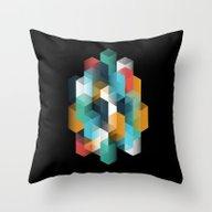 Altiro Studio Hexagon 01 Throw Pillow