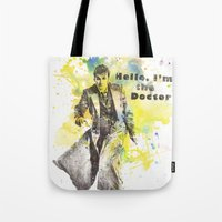 Doctor Who 10th Doctor D… Tote Bag