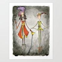 Pan & Hook Art Print