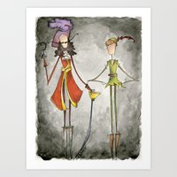 Pan & Hook Art Print