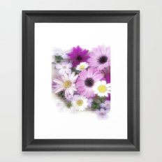 Soft, Sweet and Pretty Framed Art Print
