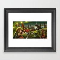 Glastonbury 2014 Framed Art Print