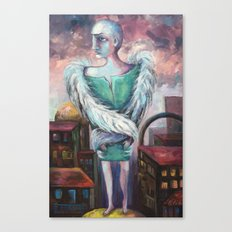 UNEMPLOYED ANGEL Canvas Print