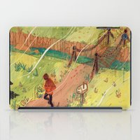 Leaving, Just for a Little While iPad Case