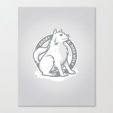 Adopt A Dire Wolf Canvas Print