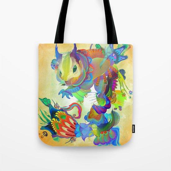 Locus Dahlia Tote Bag