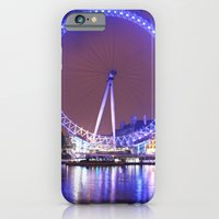 iPhone & iPod Case featuring London Eye by SC Photography