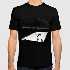 asc 593 - Le silence des cigales (The midnight lights) Mens Fitted Tee Black SMALL
