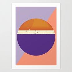 roundy Art Print