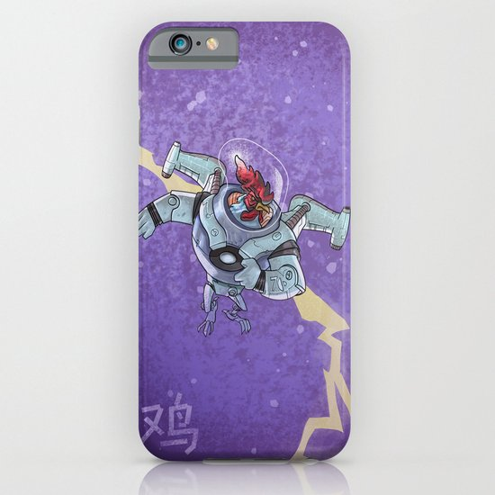 Astro Zodiac Force 10:  Rooster iPhone & iPod Case