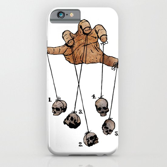 The Five Dancing Skulls Of Doom iPhone & iPod Case