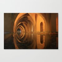 Alcazar Palace Canvas Print