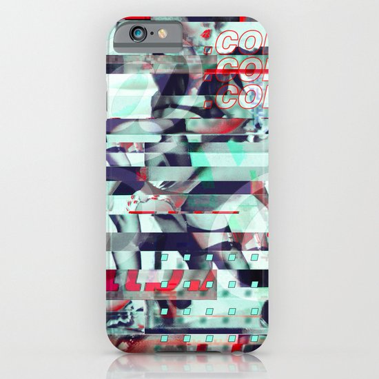 Glitch Decon 3 iPhone & iPod Case