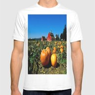 T-shirt featuring Country Farm Pumpkin Pat… by DaddyDan360