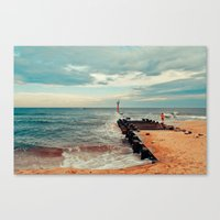 Jersey Fisherman Canvas Print