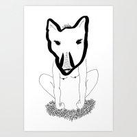 Wild Woman Art Print