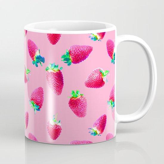 Pink Strawberry Pop Mug