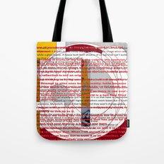 word pillow poem Tote Bag
