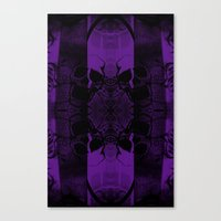 Transmitting Craniums [Purple] Canvas Print