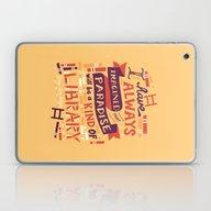 Library Laptop & iPad Skin