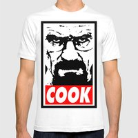 Cook - Breaking Bad Mens Fitted Tee White SMALL