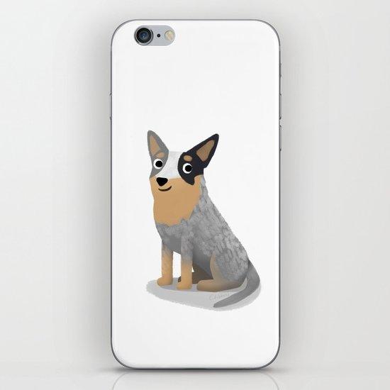 Cattle Dog - Cute Dog Series iPhone & iPod Skin