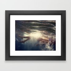 Life is the very opposite of death Framed Art Print