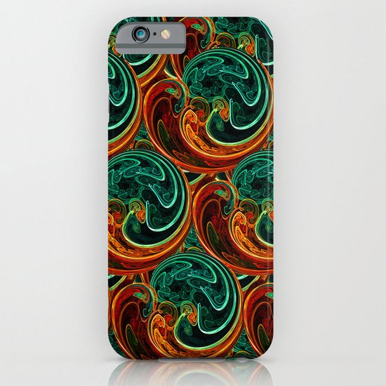 Colorful Waves iPhone & iPod Case