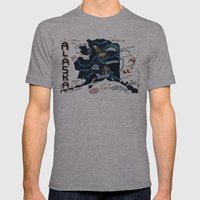ALASKA Mens Fitted Tee Athletic Grey SMALL