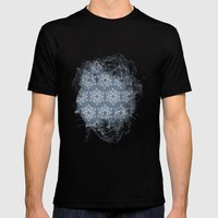 Pattern #23 Mens Fitted Tee Black SMALL