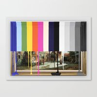 Garage Sale Painting Of … Canvas Print