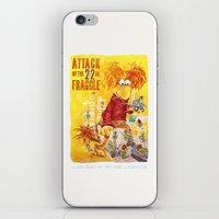 Attack of the 22 Inch Fraggle iPhone & iPod Skin
