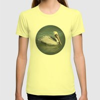 Pelican Womens Fitted Tee Lemon SMALL
