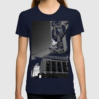 Donut World : Inner Suns… Womens Fitted Tee Navy SMALL