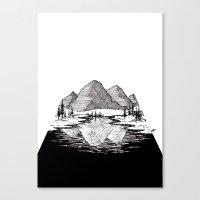 Enjoy the Mountains Canvas Print