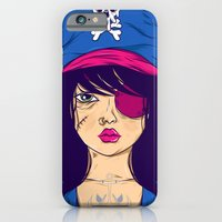 iPhone & iPod Case featuring Dangerous Girls - Pirate by Matheus Costa