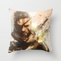 Venom Throw Pillow