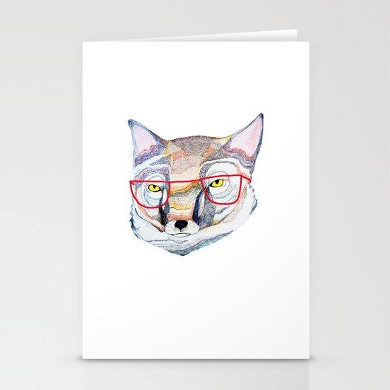 Mr Fox Stationery Card