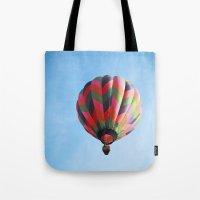 Lighter Than Air - Balloon  Tote Bag