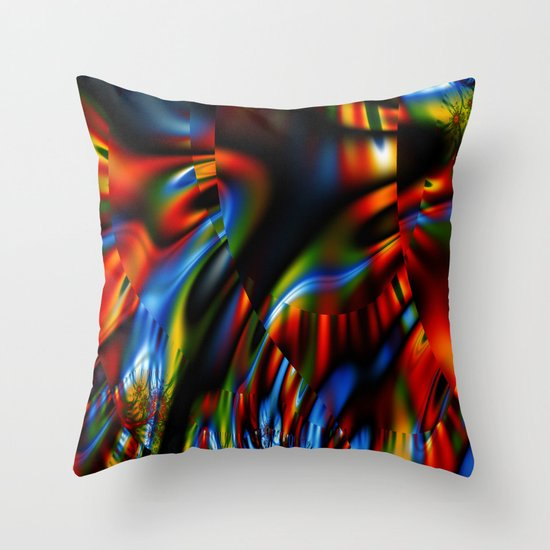 Slow Growth Throw Pillow