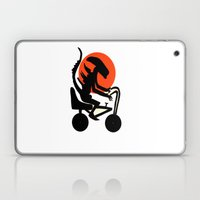 Alien On A Chopper Laptop & iPad Skin