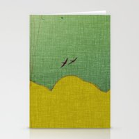 migratory thoughts Stationery Cards
