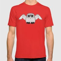 Stealth and surprise Mens Fitted Tee Red SMALL