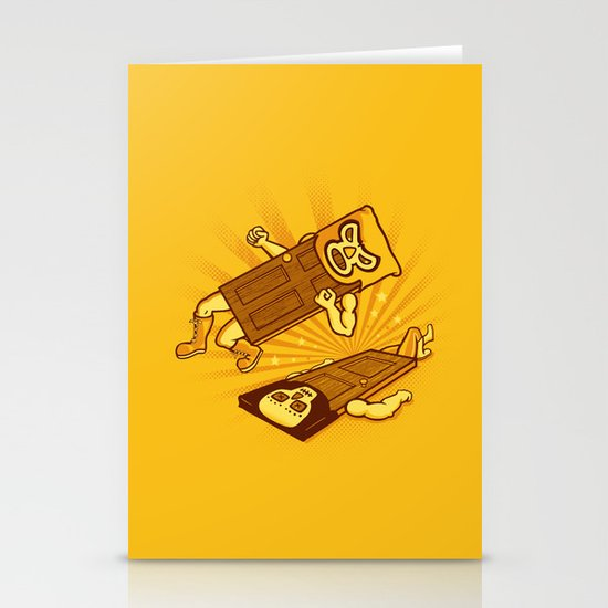 Lucha Doors!  Stationery Card