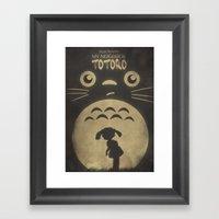 My Neighbor Totoro Framed Art Print