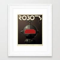 Robots - Tonto Framed Art Print